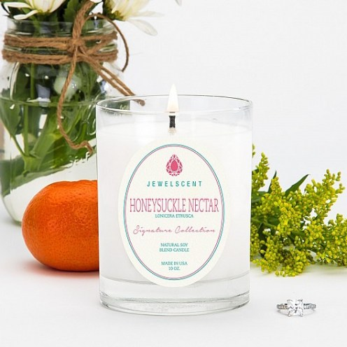 JEWELSCENT candles FashionDailyMag honeysuckle nectar