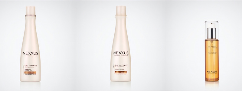 NEXXUS oil infinite hair care FashionDailyMag