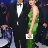 Director Paolo Sorrentino and actress Marion Cotillard
