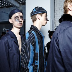 Agi & Sam SS16, Back Stage (Sam Wilson,British Fashion Council) lowRes29