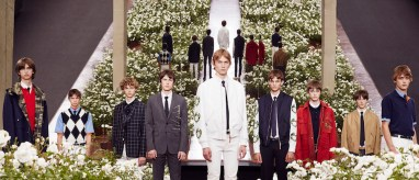 Dior Homme Summer 2016 - Group shot FashionDailyMag feature