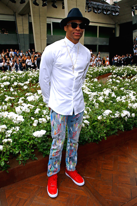 RUSSEL WESTBROOK dior homme ss16 FashionDailyMag