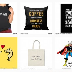 zazzle custom product FashionDailyMag