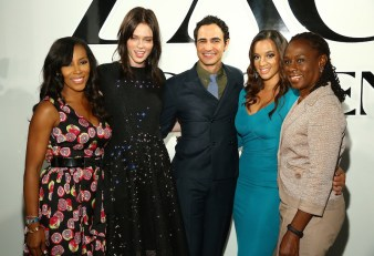 ZAC Zac Posen SS16 NYFW Show in Partnership with Google Made With Code - Front Row & Backstage