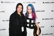 karina gamez and Alice Longyu Gao at karigam ss16 fashiondailymag
