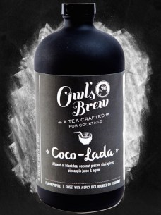 OWLS BREW tea COCO LADA hostess gifts