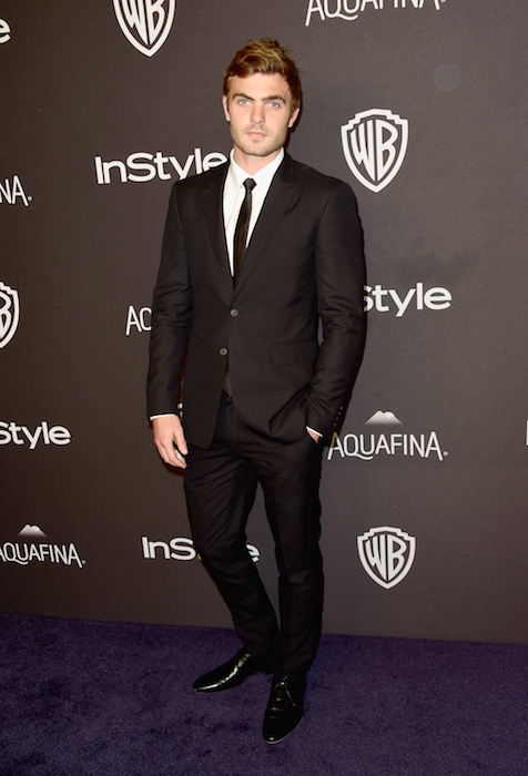 Alex Roe attends InStyle and Warner Bros. 73rd Annual Golden Globe Awards Post-Party