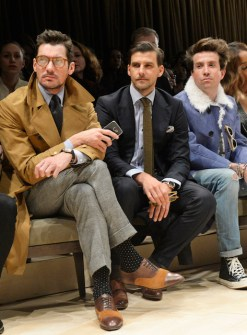 Burberry Menswear AW16 - Front Row & Runway
