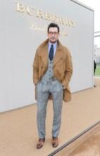 david gandy burberry fw16 mw FashionDailyMag