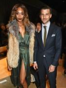 jourdan dunn + johannes huebl burberry FashionDailyMag