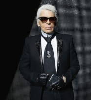 karl lagerfeld at dior homme FashionDailyMag 2