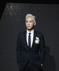 T.O.P attends the Dior