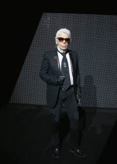 karl lagerfeld at dior homme FashionDailyMag 3