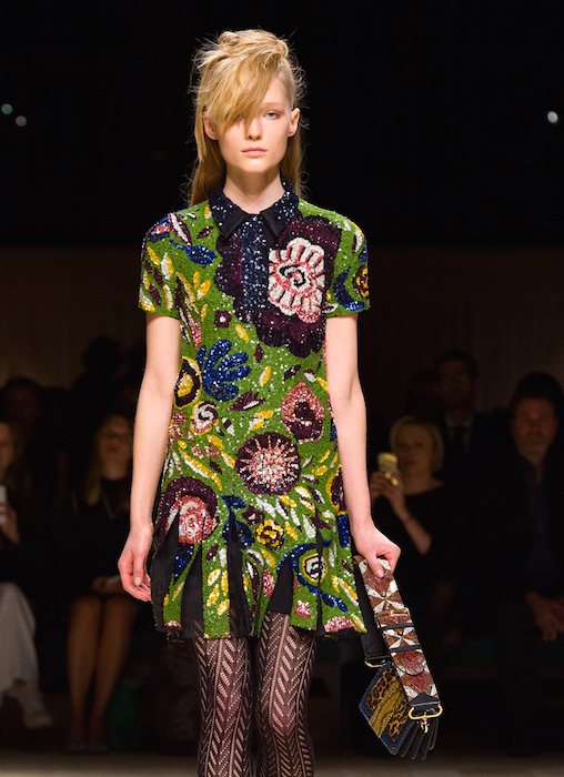 Burberry Womenswear February 2016 Collection - Look 52