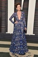 minnie driver at vanity fair oscars after party