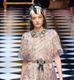 DOLCE GABBANA fw16 MFW fwp FashionDailyMag 19 yumi lambert