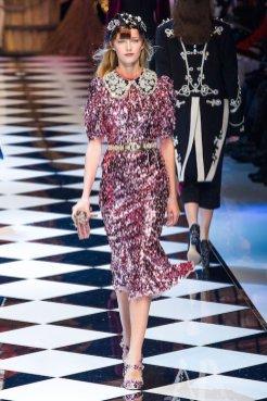 DOLCE GABBANA fw16 MFW fwp FashionDailyMag 23