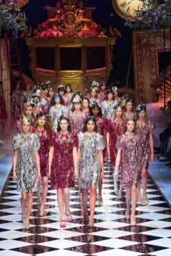 DOLCE GABBANA fw16 MFW fwp FashionDailyMag 54