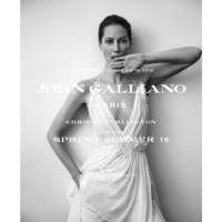 Christy Turlington in Galliano campaign