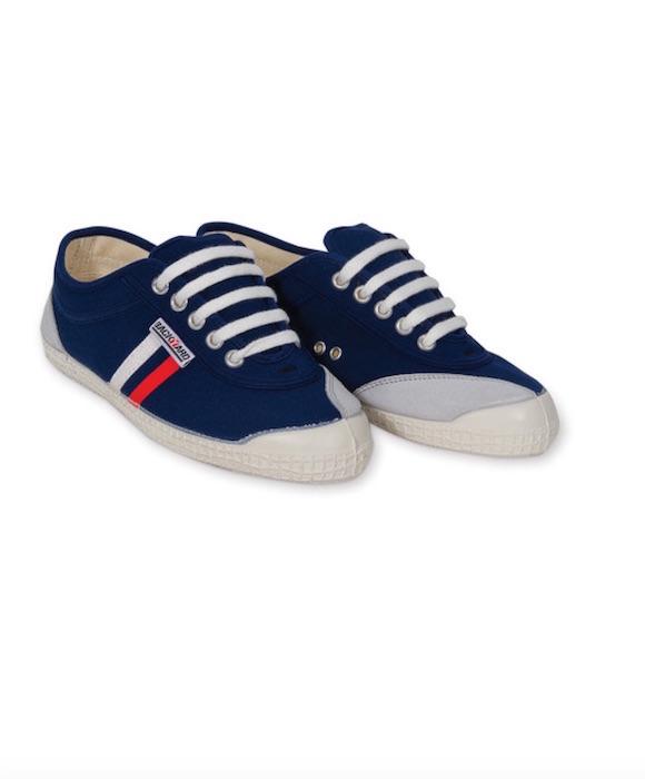 backyard shoes blue stripe summer whites FashionDailyMag