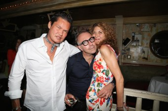 Jorge Luis, Pascal Gantois, Brigitte Segura ICB CELEBRATES THE LAUNCH OF: MIDNIGHT WINTER DREAM CAMPAIGN & FALL 2016 COLLECTION