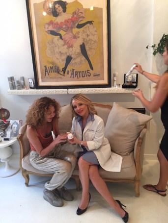 brigitte segura with Yelena Yeretsky FashionDailyMag 5