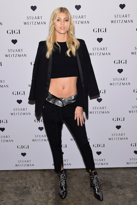devon windsor Stuart Weitzman Celebrates Launch Of The Gigi Boot