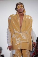 yellow HOOD BY AIR ss17 randy brooke Fashiondailymag 488