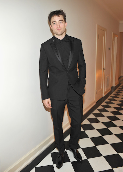 ROBERT PATTINSON GQ and Dior Homme Host a Private Dinner in Celebration of the 2016 GQ Men of The Year party