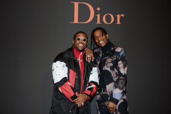 PARIS, FRANCE - JANUARY 21: ASAP Rocky and ASAP ferg attends the Dior Homme Menswear Fall/Winter 2017-2018 show as part of Paris Fashion Week on January 21, 2017 in Paris, France. (Photo by Francois Durand/Getty Images) *** Local Caption *** ASAP Rocky; ASAP Ferg