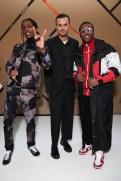 Asap Rocky & Kirs van Assche & Asap Ferg_Saskia Lawaks pour Dior Homme