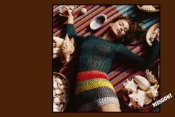 Irina Shayk MISSONI CAMPAIGN SS17 HARLEY WEIR fashiondailymag 1