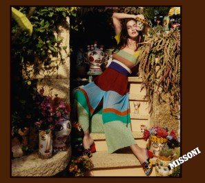 Irina Shayk MISSONI CAMPAIGN SS17 HARLEY WEIR fashiondailymag 3