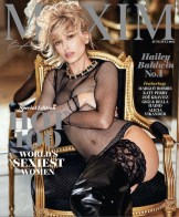 MAXIM Magazine HOT 100 issue Hailey Baldwin Cover bensimon x Maxim on FashionDailyMag-24 at 7.18.52 PM