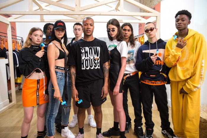 SHOW HOUSE: HERON PRESTON SS18 PRESENTATION FASHIONDAILYMAG