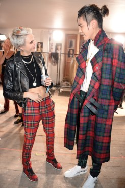 Cara Delevingne and Kris Wu