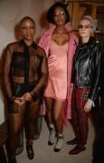 Julie Adenuga, Jourdan Dunn and Cara Delevingne