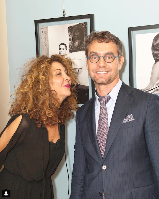 Brigitte Segura with Dr. Konstantin Plastic surgeon NYC