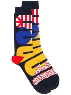 bright socks at HENRIK VIBSKOV SOHO FASHIONDAILYMAG GIFTS 2017