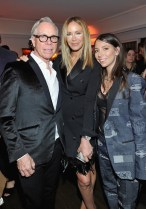 LOS ANGELES, CA - JANUARY 04: (L-R) Tommy Hilfiger, Dee Ocleppo, and Ally Hilfiger attend W Magazine's Celebration of its 'Best Performances' Portfolio and the Golden Globes with Audi, Dior, and Dom Perignon at Chateau Marmont on January 4, 2018 in Los Angeles, California. (Photo by Donato Sardella/Getty Images for W Magazine)