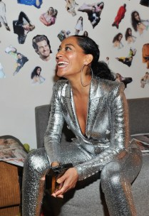 LOS ANGELES, CA - JANUARY 04: Tracee Ellis Ross attends W Magazine's Celebration of its 'Best Performances' Portfolio and the Golden Globes with Audi, Dior, and Dom Perignon at Chateau Marmont on January 4, 2018 in Los Angeles, California. (Photo by Donato Sardella/Getty Images for W Magazine)