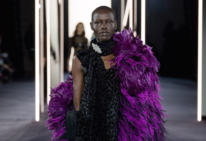 Azzaro Fashion show FASHIONDAILYMAG