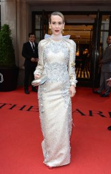 NEW YORK, NY - MAY 07: Actress Sarah Paulson ( wears Prada) attends as The Mark Hotel celebrates the 2018 Met Gala at The Mark Hotel on May 7, 2018 in New York City. (Photo by Andrew Toth/Getty Images for The Mark Hotel)