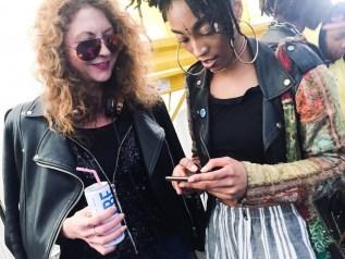 brigitte segura LaQUAN SMITH x VFILES 2018 Thorsten Roth x FashionDailyMag