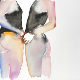 Artist Fahren Feingold - Image courtesy The Untitled Space fashiondailymag