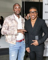 young paris with Romeo Hunte and Rado watches : SS19 for New York Fashion Week