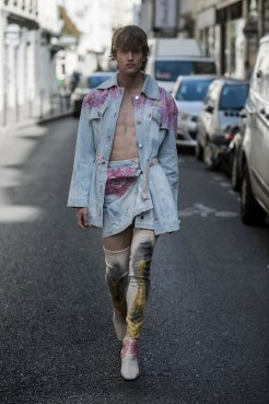 LOOK24 NEITH NYER PARIS FASHION WEEK SS19 Fashiondailymag bleumode