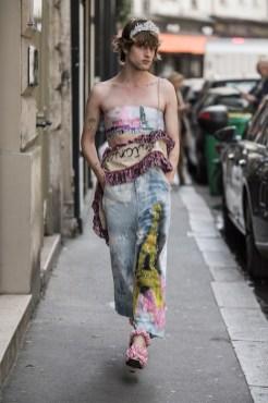 LOOK26 NEITH NYER PARIS FASHION WEEK SS19 Fashiondailymag bleumode