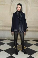 charlotte lebon Christian Dior PHOTOCALL COUTURE SS19 PARIS fashion daily mag