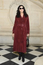 PARIS, FRANCE - JANUARY 21: Monica Bellucci attends the Christian Dior Haute Couture Spring Summer 2019 show as part of Paris Fashion Week on January 21, 2019 in Paris, France. (Photo by Pascal Le Segretain/Getty Images)